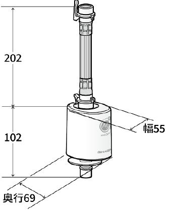 AS-AG1 寸法図